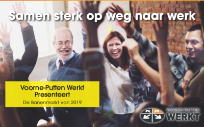 MKB Werkoffensief en HalloWerk op Banenmarkt Voorne Putten Werkt!